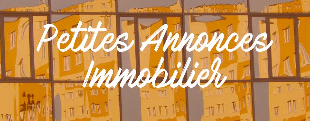 Petites annonces immobilier